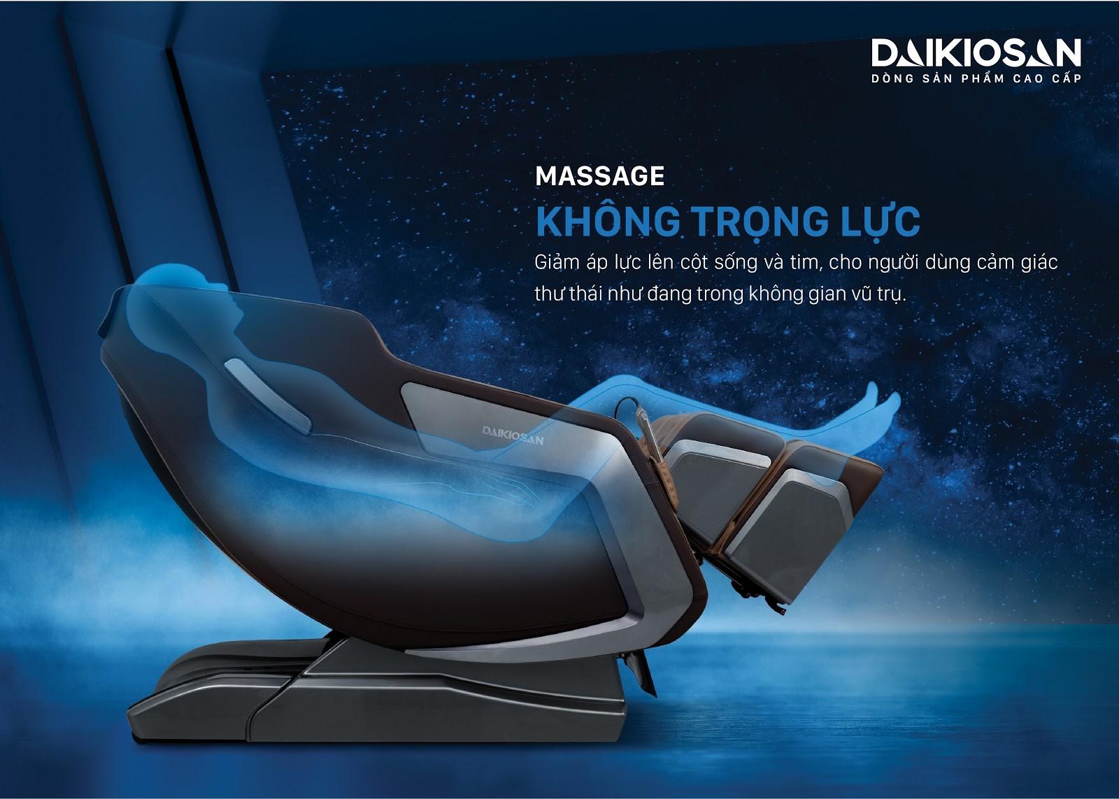 Phương pháp massage không trọng lực được khuyên dùng hiện nay