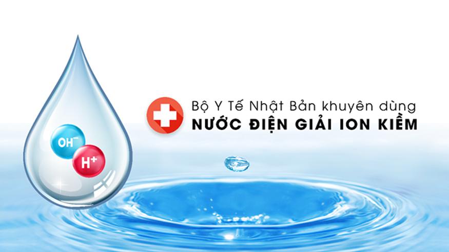 Máy lọc nước ion kiềm giúp làm chậm lão hóa, chống bệnh tật