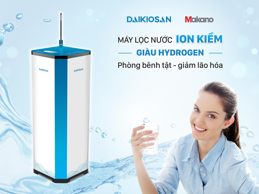 Máy lọc nước ion kiềm giàu Hydrogen có tốt cho sức khỏe?