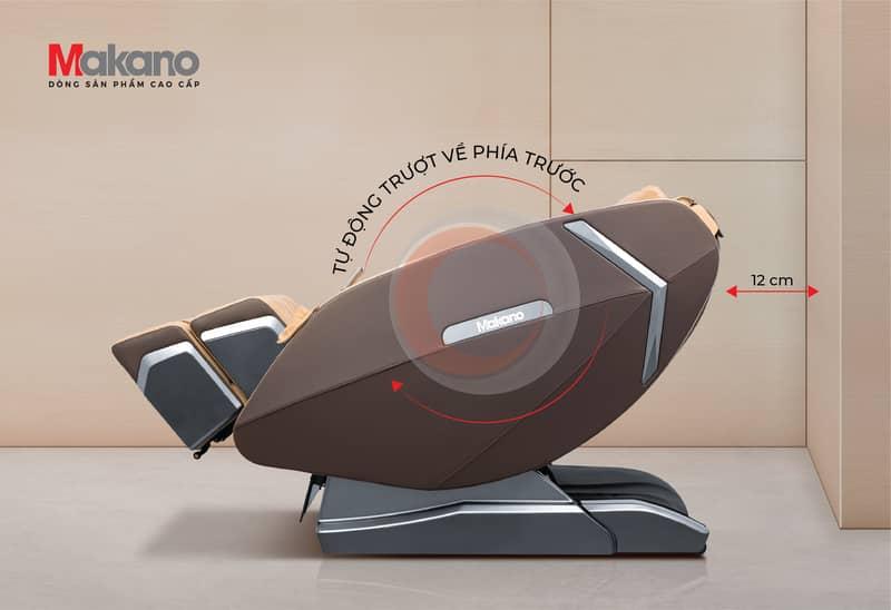 Tự động trượt về phía trước - ghế massage Makano MKGM-30002