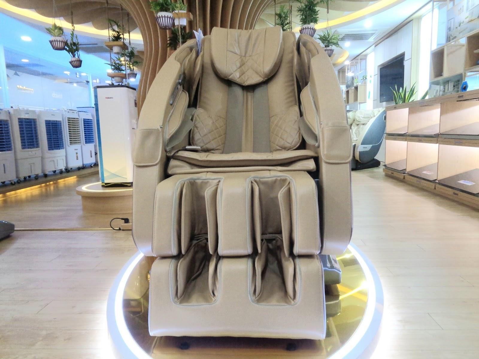 thương hiệu ghế massage được tin dùng hiện nay
