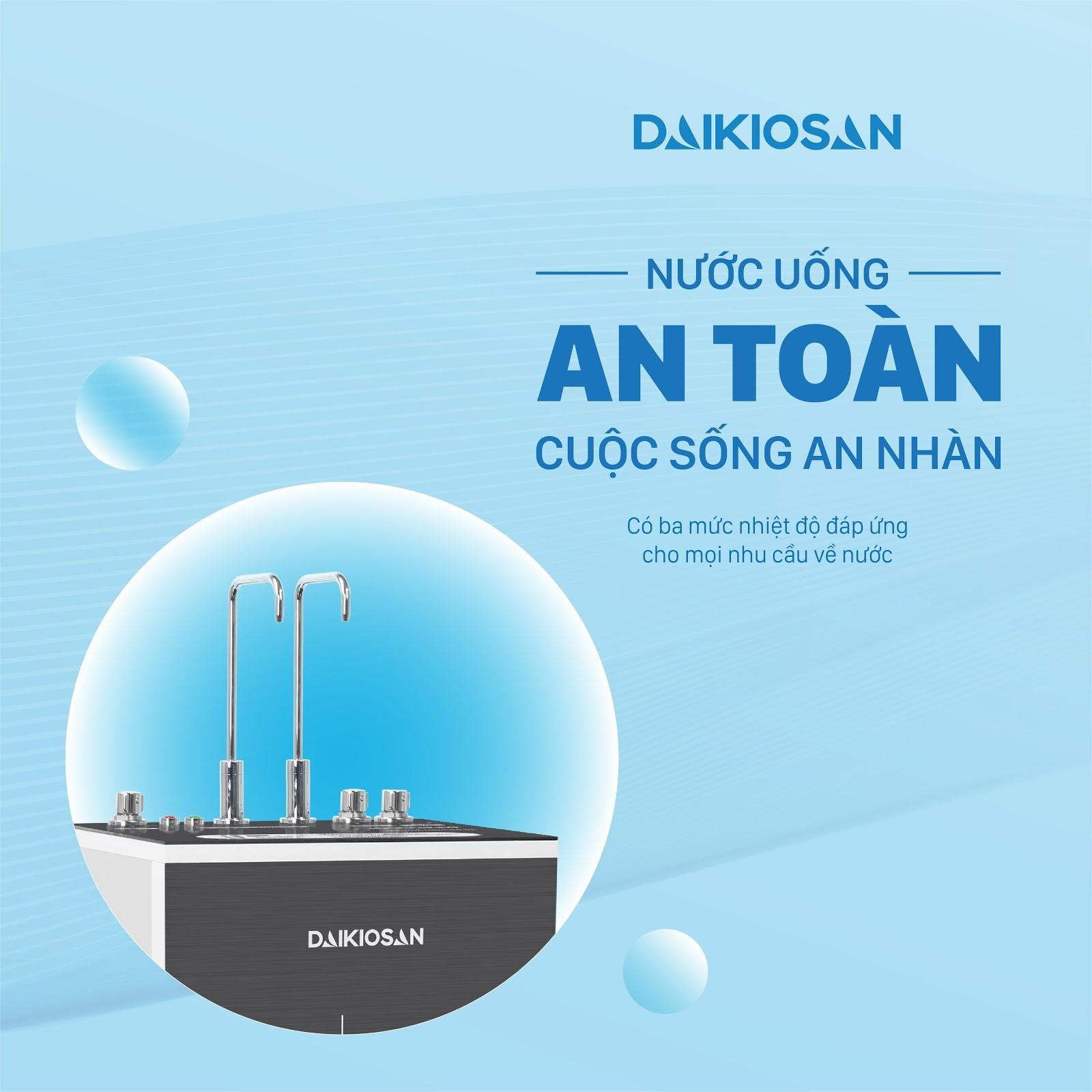 Máy lọc nước RO đem đến nguồn nước tinh khiết uống trực tiếp tại vòi