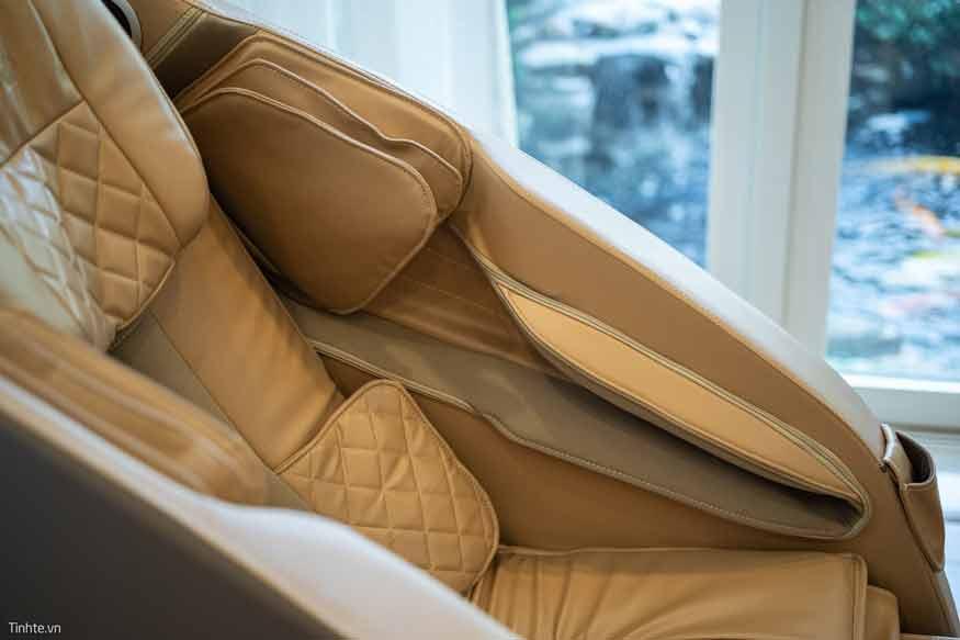 Ghế massage có số lượng con lăn, túi khí, chất liệu da càng cao cấp thì có khối lượng càng nặng