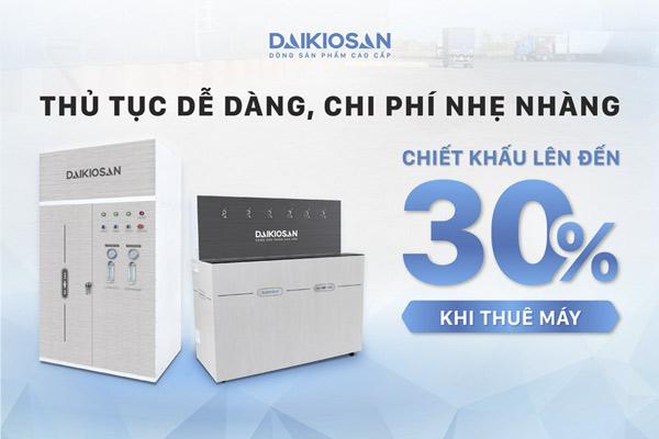 ưu đãi hấp dẫn khi mua máy lọc nước Đại Việt