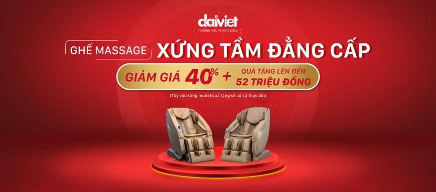 Chọn ghế massage của thương hiệu uy tín là bảo chứng cho chất lượng và quyền lợi của người mua