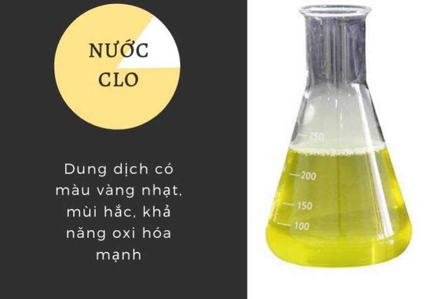 Clo là chất khí có màu gì? Khí clo độc như thế nào? Clo dạng lỏng hoặc dạng khí đều có màu vàng nhạt và rất độc nếu dùng ở liều lượng cao.