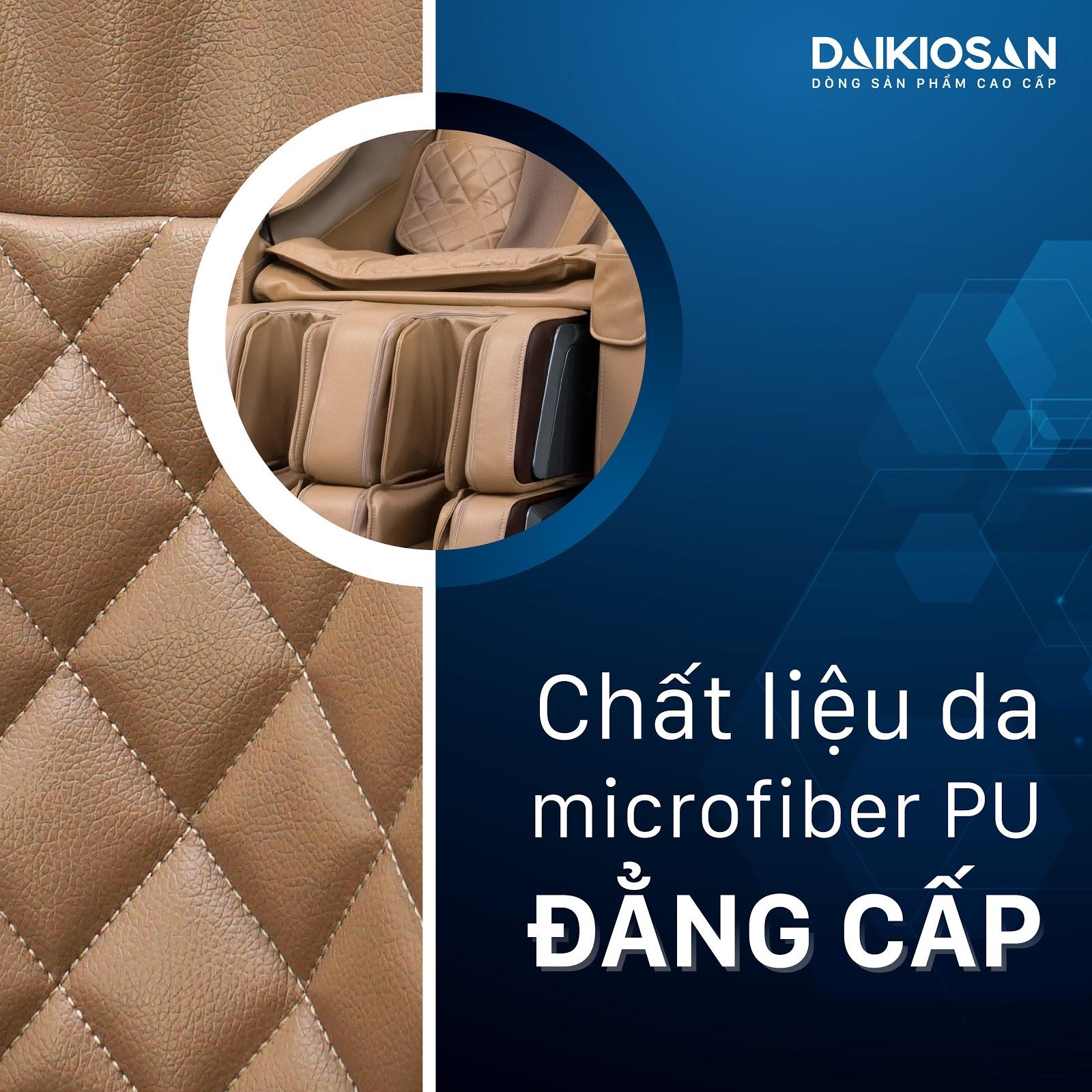 Chất liệu da Microfiber PU cao cấp chuyên dùng cho những món đồ xa xỉ
