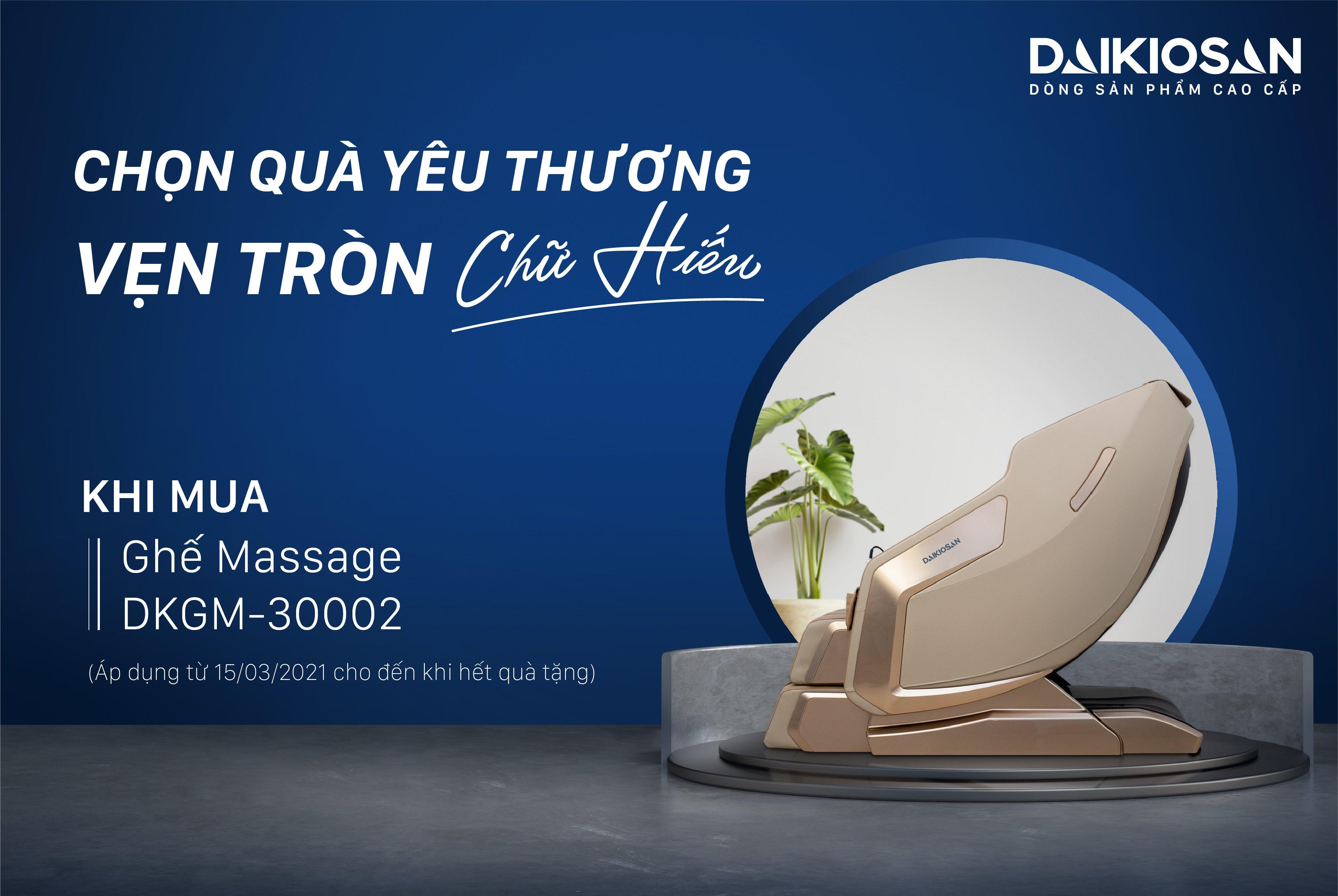 Ghế massage báo hiếu - món quà gửi trọn yêu thương