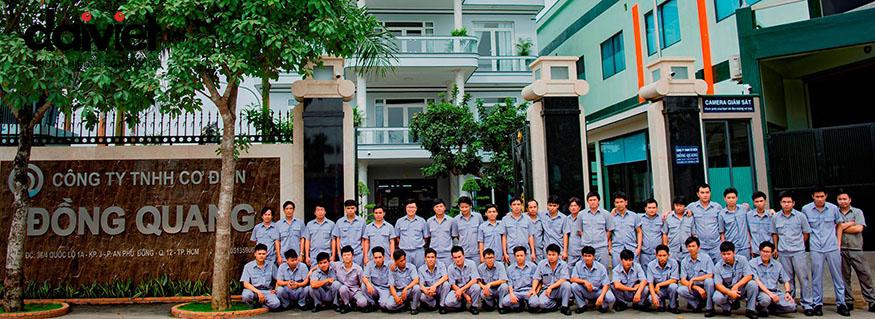 Công ty Đồng Quang thi công hệ thống máy làm mát công nghiệp