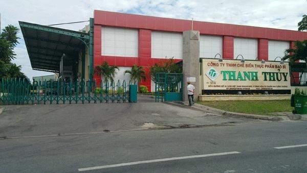 Công ty TNHH chế biến bao bì Thanh Thủy có địa chỉ tại Bình Dương