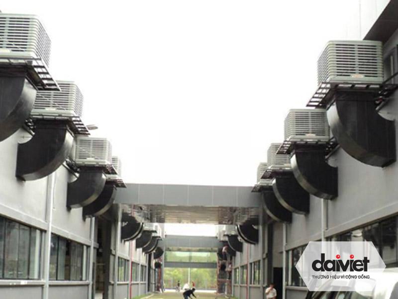 Hệ thống máy làm mát hiệu suất cao của Đại Việt sẽ mang đến môi trường làm việc mát mẻ cho nhà xưởng