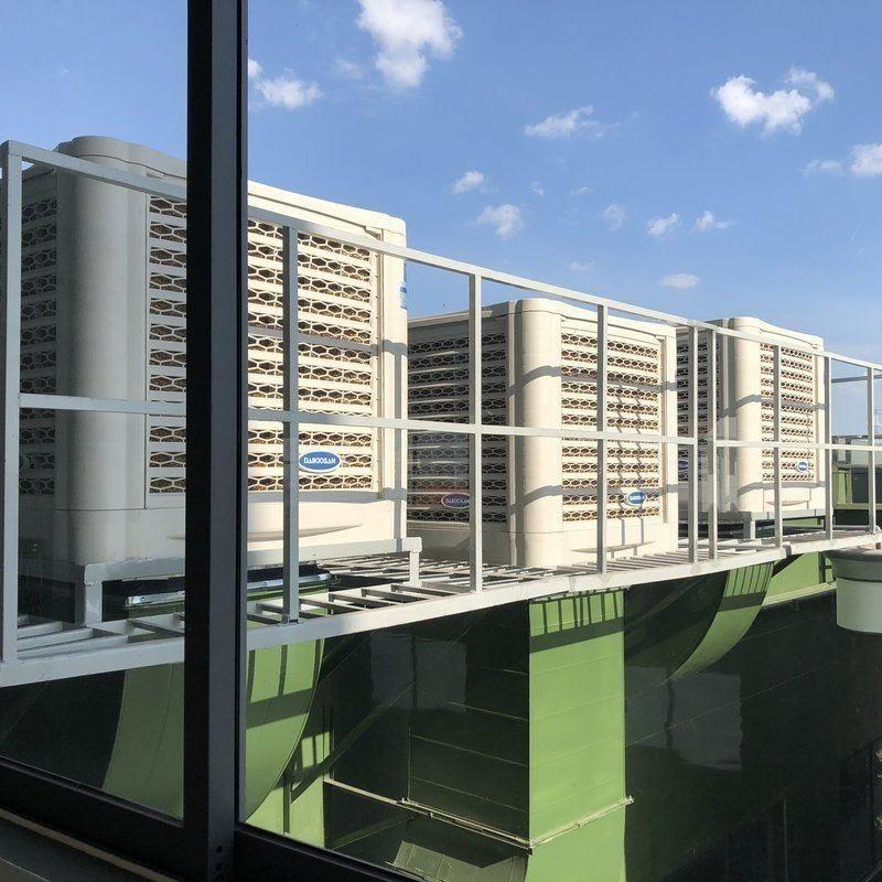 Thi công hệ thống làm mát cho nhà xưởng công ty Đồng Quang