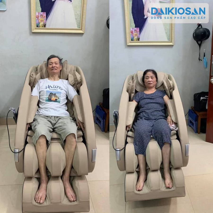 ghế massage sản phẩm hỗ trợ sức khỏe người cao tuổi