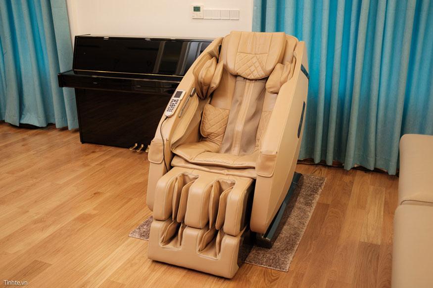 Kích thước ghế massage chuẩn phù hợp để di chuyển trong nhiều ngôi nhà hiện đại