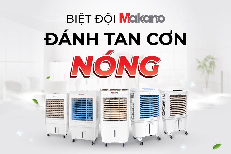 Máy làm mát cao cấp Daikiosan và Makano mang lại độ ẩm lý tưởng tốt cho sức khỏe