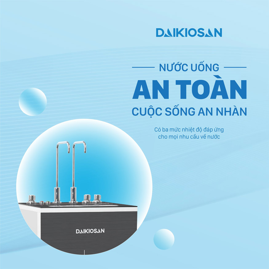 máy lọc nước Daikiosan