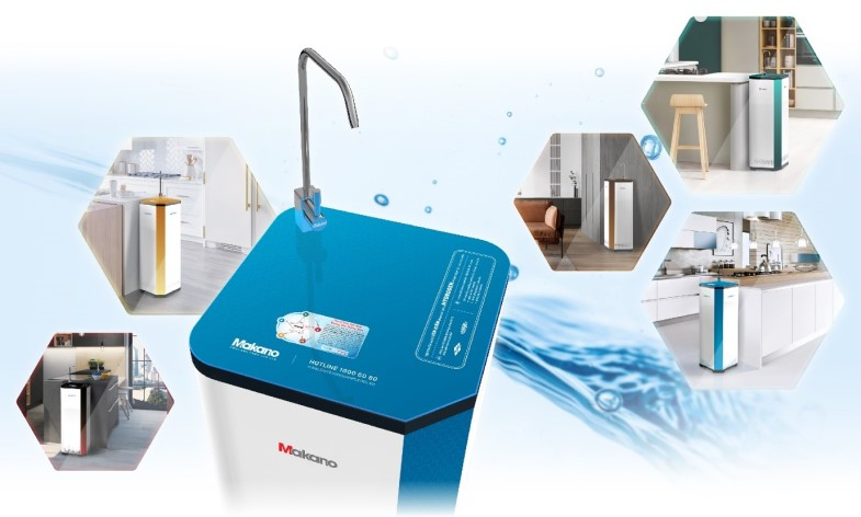 Máy lọc nước Ion kiềm phong thủy dễ dàng phù hợp mọi không gian