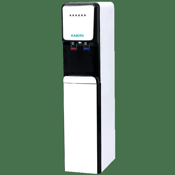Máy lọc nước nóng lạnh Kasuto thiết kế dạng đứng nhỏ gọn cho không gian