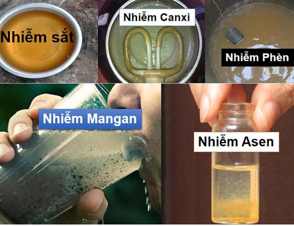 Cách xử lý nước giếng khoan bị hôi