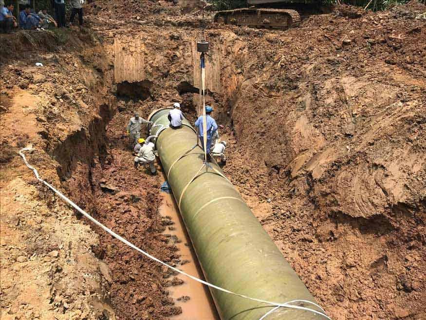 nước máy không còn sạch như trước do đường ống dẫn xuống cấp