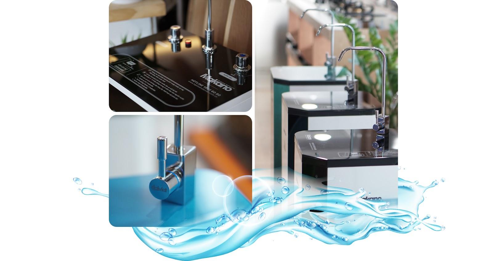 Tinh tế từng chi tiết nhỏ của máy lọc nước
