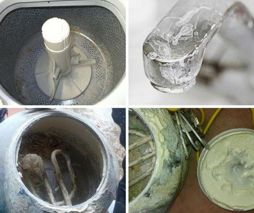 Cách kiểm tra nước sạch bằng quan sát bã cặn, nước nhiễm đá vôi thường để lại cặn trắng