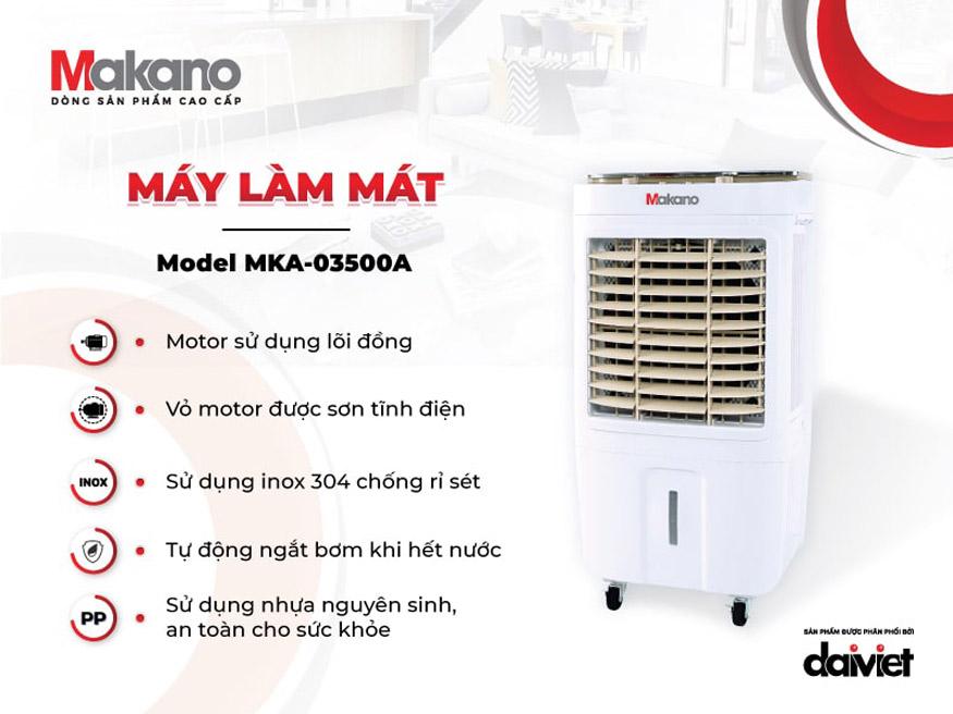 Quạt điều hòa Makano MKA-03500A