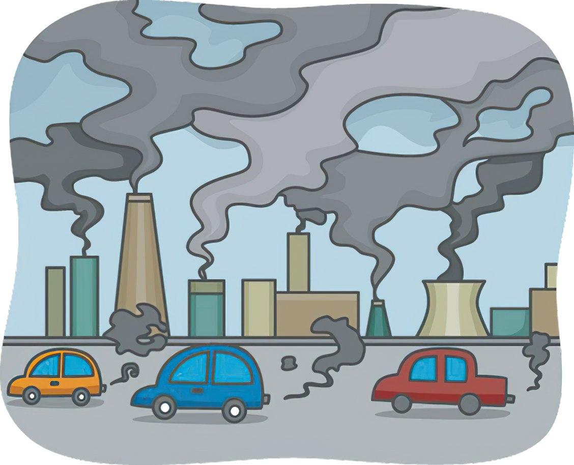 Xe cộ cũng góp phần làm ô nhiễm môi trường