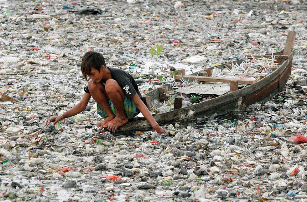 ô nhiễm môi trường nước ở indonesia