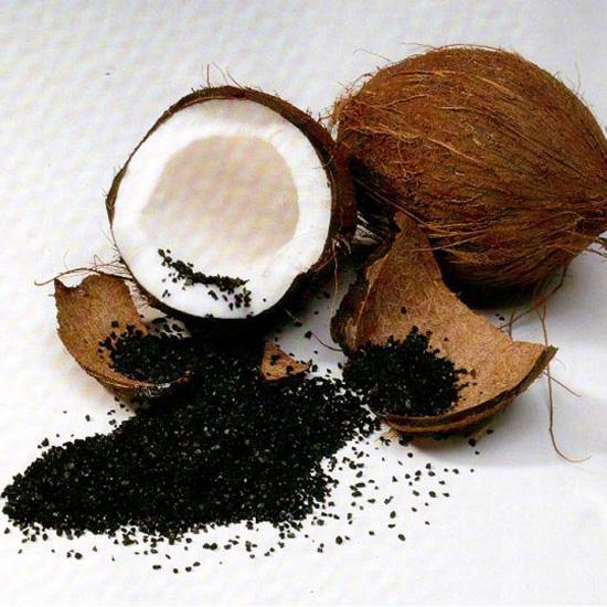 Giá trị của chỉ số iodine trong than hoạt tính gáo dừa dao động từ 500–1200 mg/g