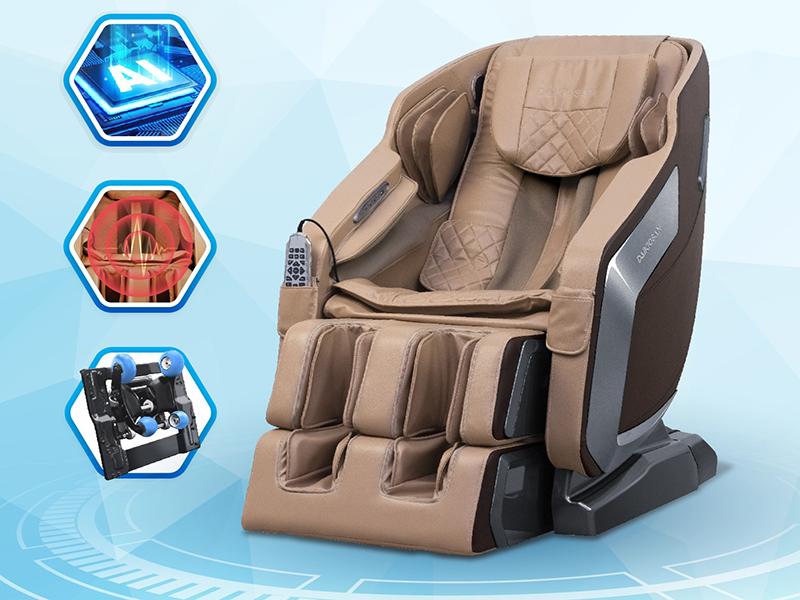 Ghế massage được cải thiện chất lượng cao giúp người dùng thoải mái hơn
