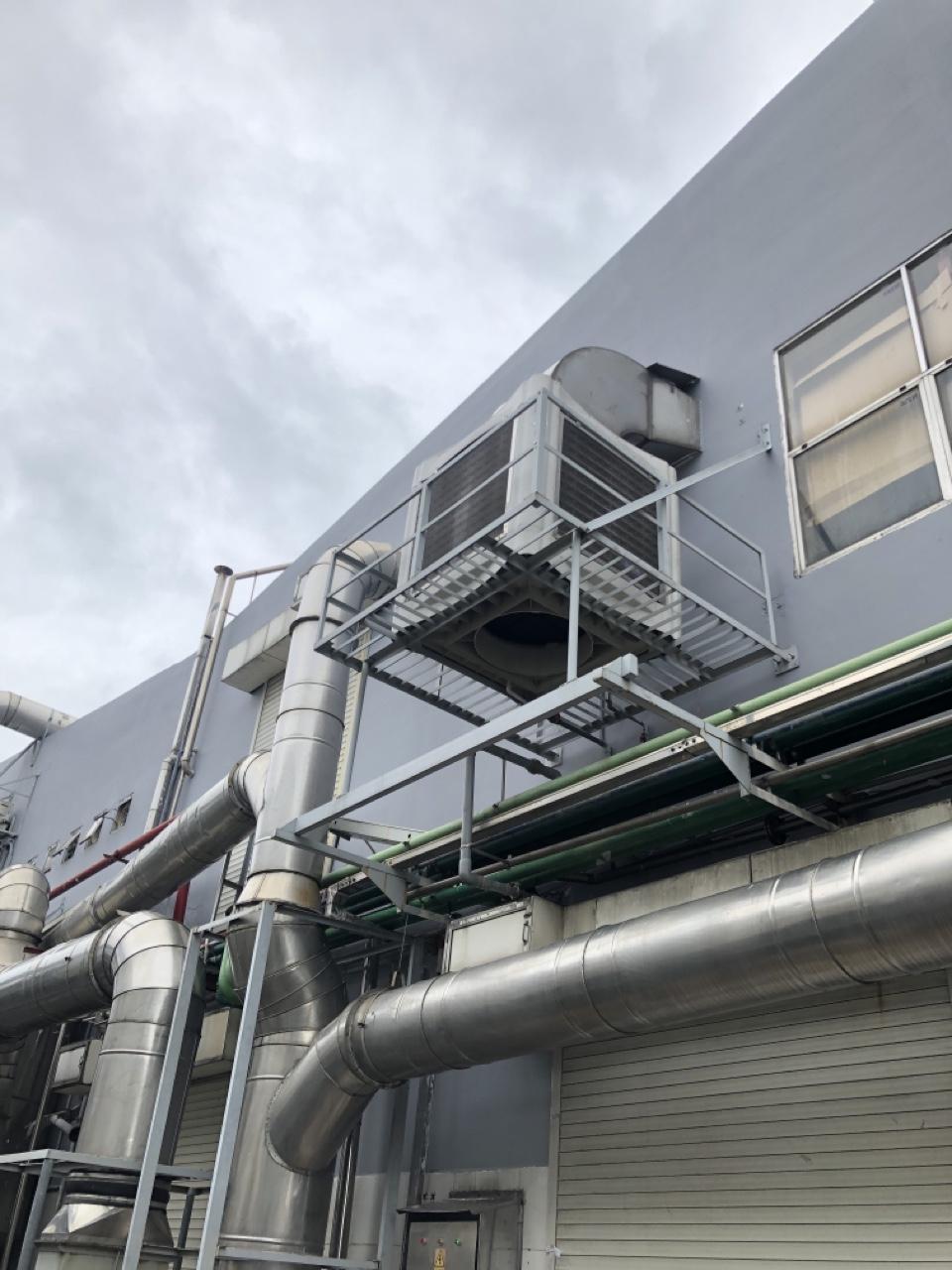 Máy làm mát công nghiệp lắp đặt tại nhà máy công ty Thanh Thủy