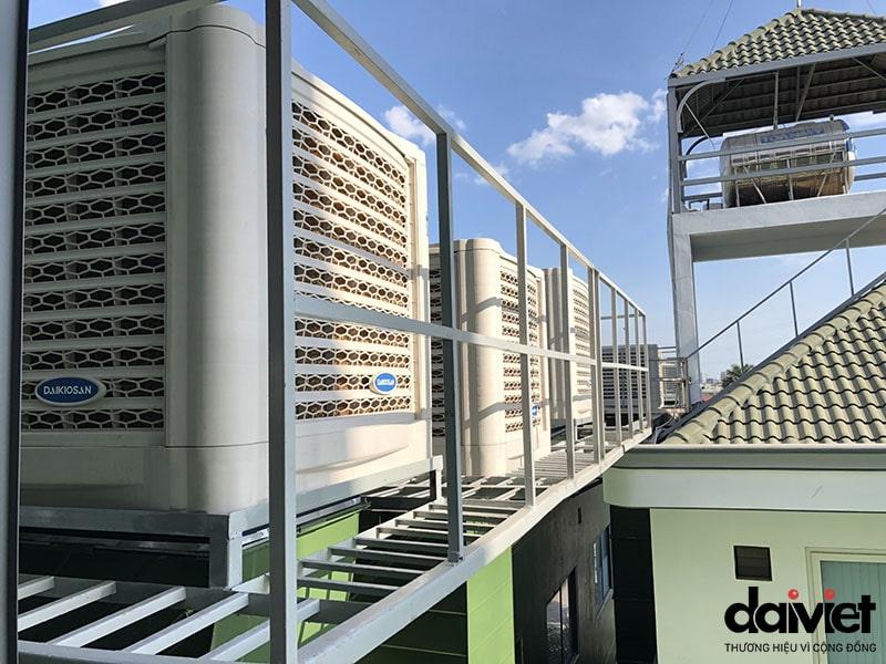 Hệ thống máy làm mát công nghiệp của Tập Đoàn Đại Việt
