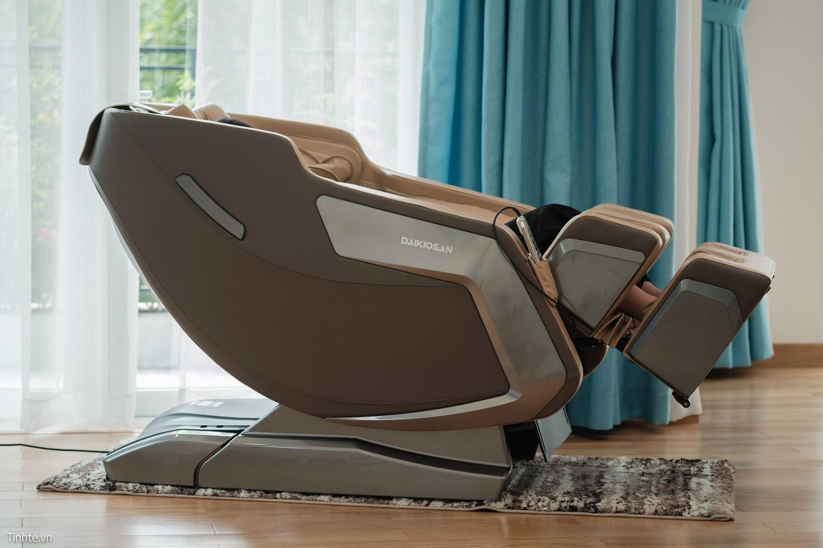 Tư vấn mua ghế massage thiết kế nhỏ gọn, sang trọng