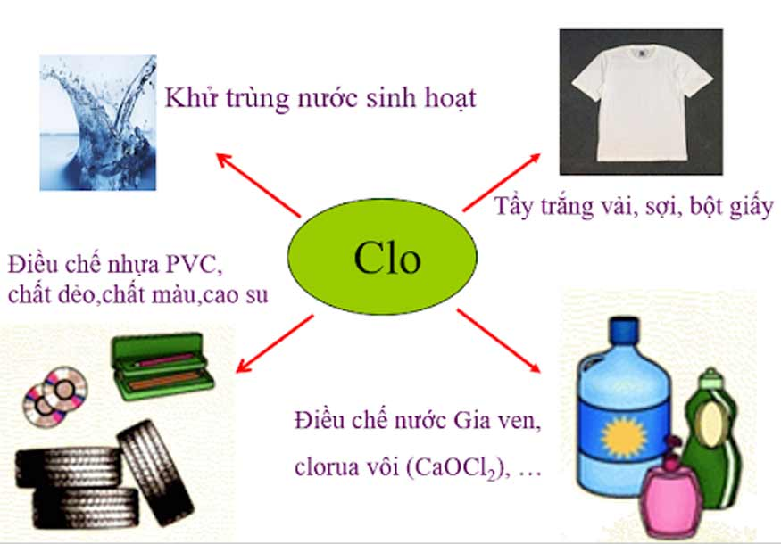 Clo có nhiều ứng dụng trong đời sống hằng ngày.