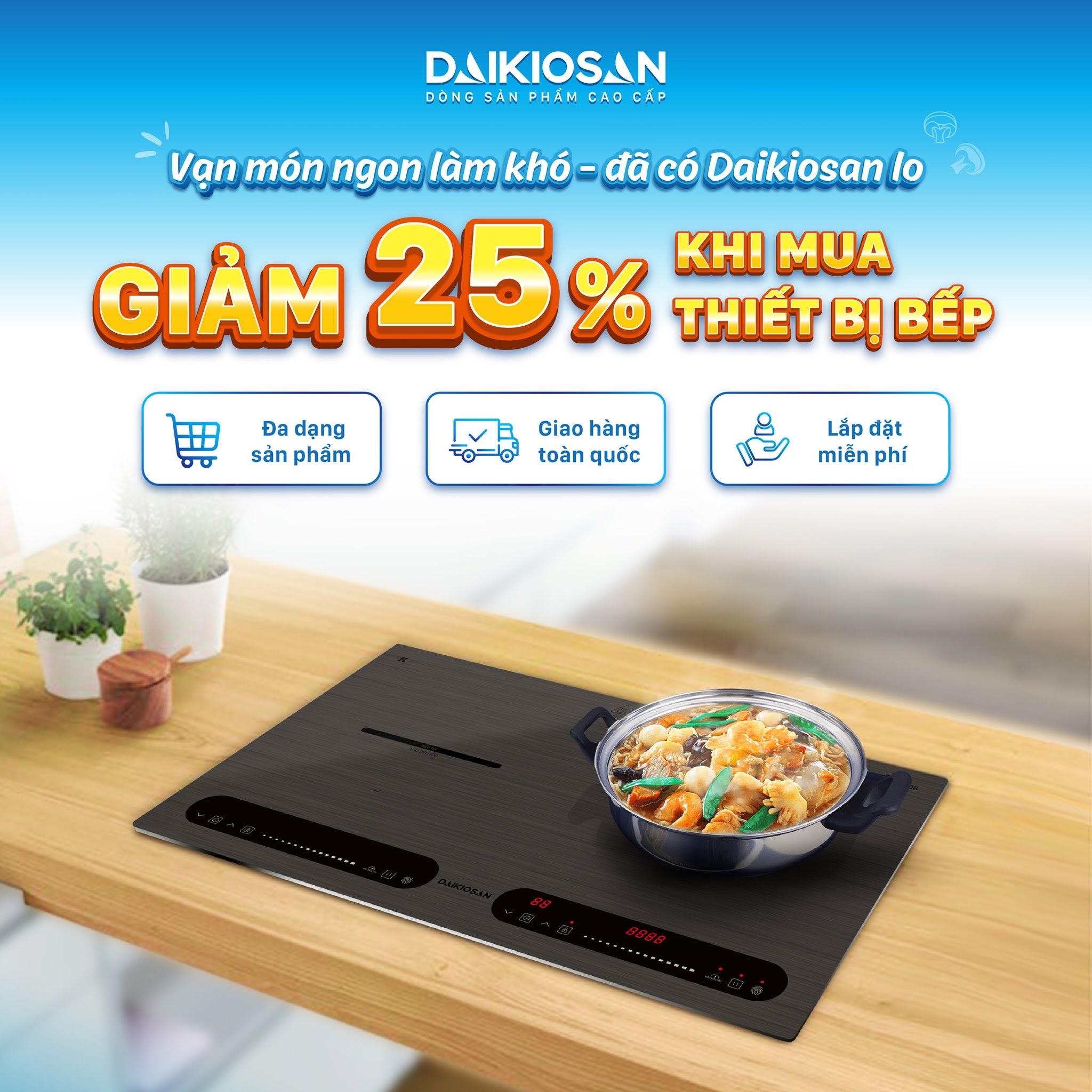Vạn món ngon với thiết bị bếp Daikiosan, Makano