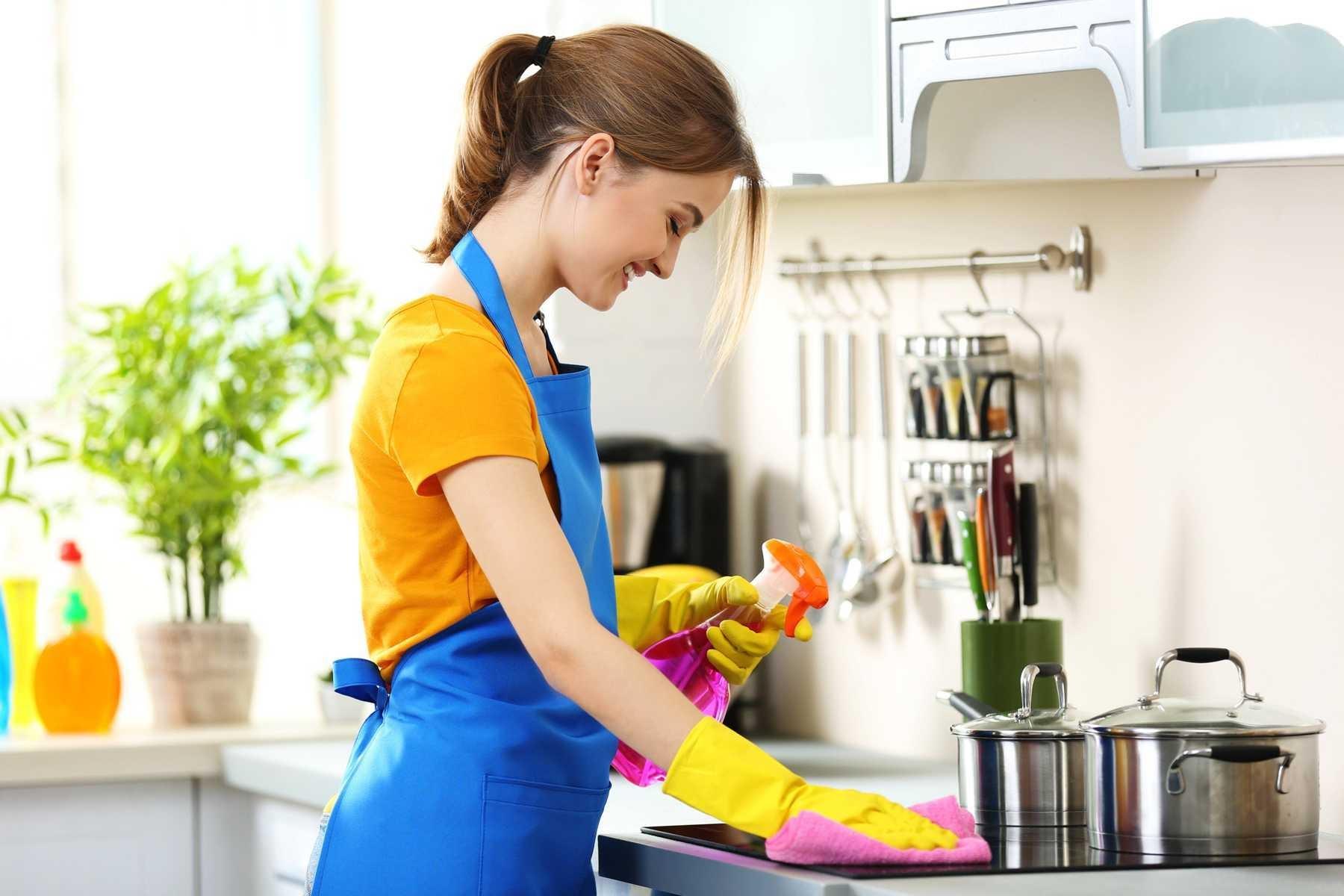 Thực hiện các lưu ý để việc vệ sinh bếp từ an toàn và hiệu quả