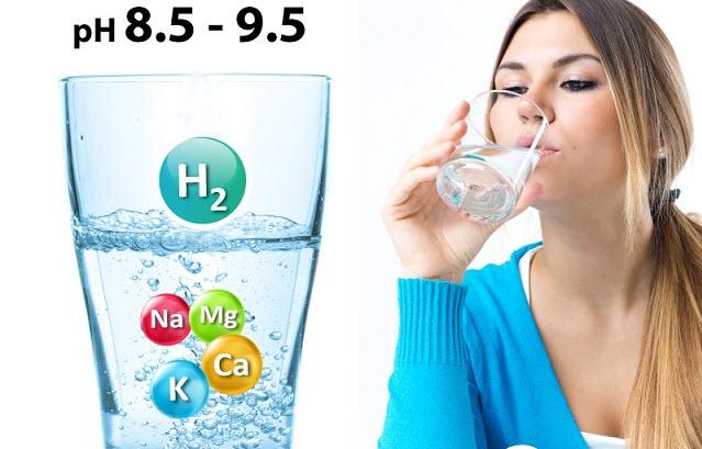 nước ion kiềm chưa vi khoáng