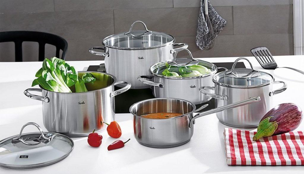 Vùng nấu với bếp hồng ngoại làm nóng được tất cả các loại nồi chảo