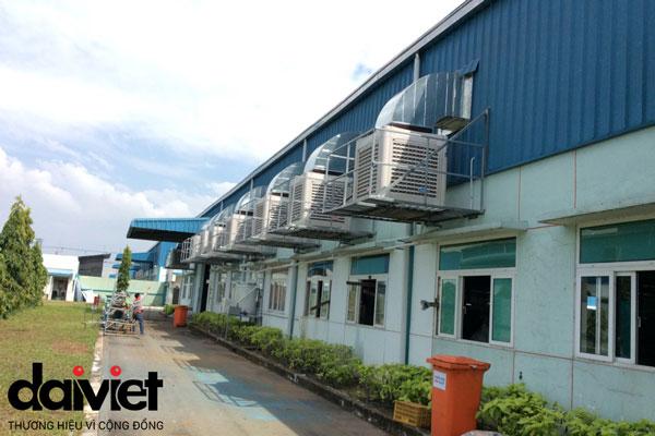 Trúng thầu cung cấp và thi công hệ thống máy làm mát cho công ty Uni-Red Việt Nam