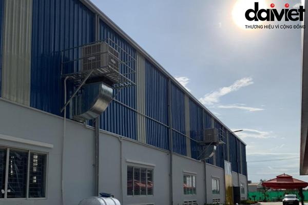 Trúng thầu cung cấp và thi công hệ thống máy làm mát cho công ty Thiện Phú Sỹ