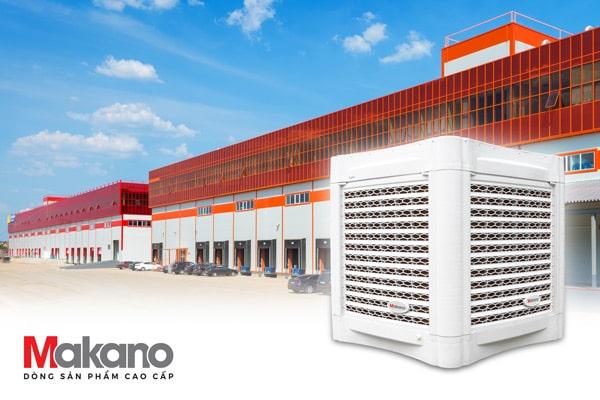7 ưu điểm của máy làm mát công nghiệp hiệu suất cao Daikiosan / Makano