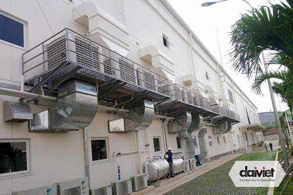 Trúng thầu hệ thống điều hòa không khí và máy làm mát cho công ty Ansell Vina