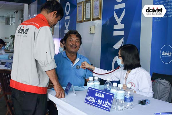 Đại Việt tổ chức khám sức khỏe thường niên năm 2018 cho cán bộ công nhân viên