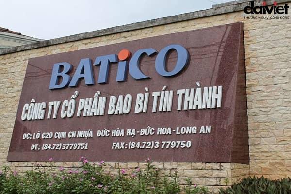 Trúng thầu hệ thống thông gió Công ty Cổ Phần Bao Bì Tín Thành (Batico)