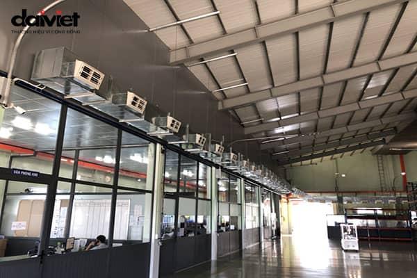 Trúng thầu thi công máy làm mát công nghiệp công ty TNHH Cơ Điện Đồng Quang