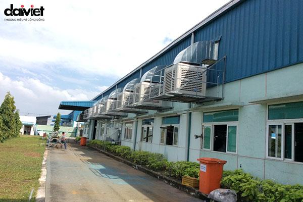 Trúng thầu hệ thống máy làm mát cho công ty Zender Việt Nam