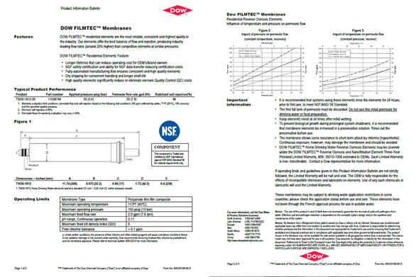 Chất lượng vật tư máy lọc nước Daikiosan / Makano đạt chuẩn quốc tế NSF, SGS