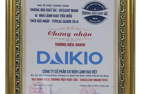 Máy Làm Mát Cao Cấp Daikio - Thương Hiệu Xuất Sắc 2016