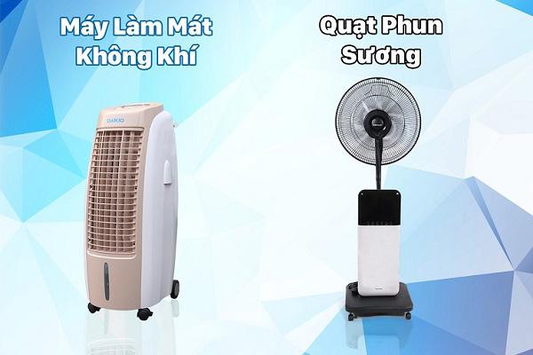 Có nên mua máy làm mát thay quạt phun sương?